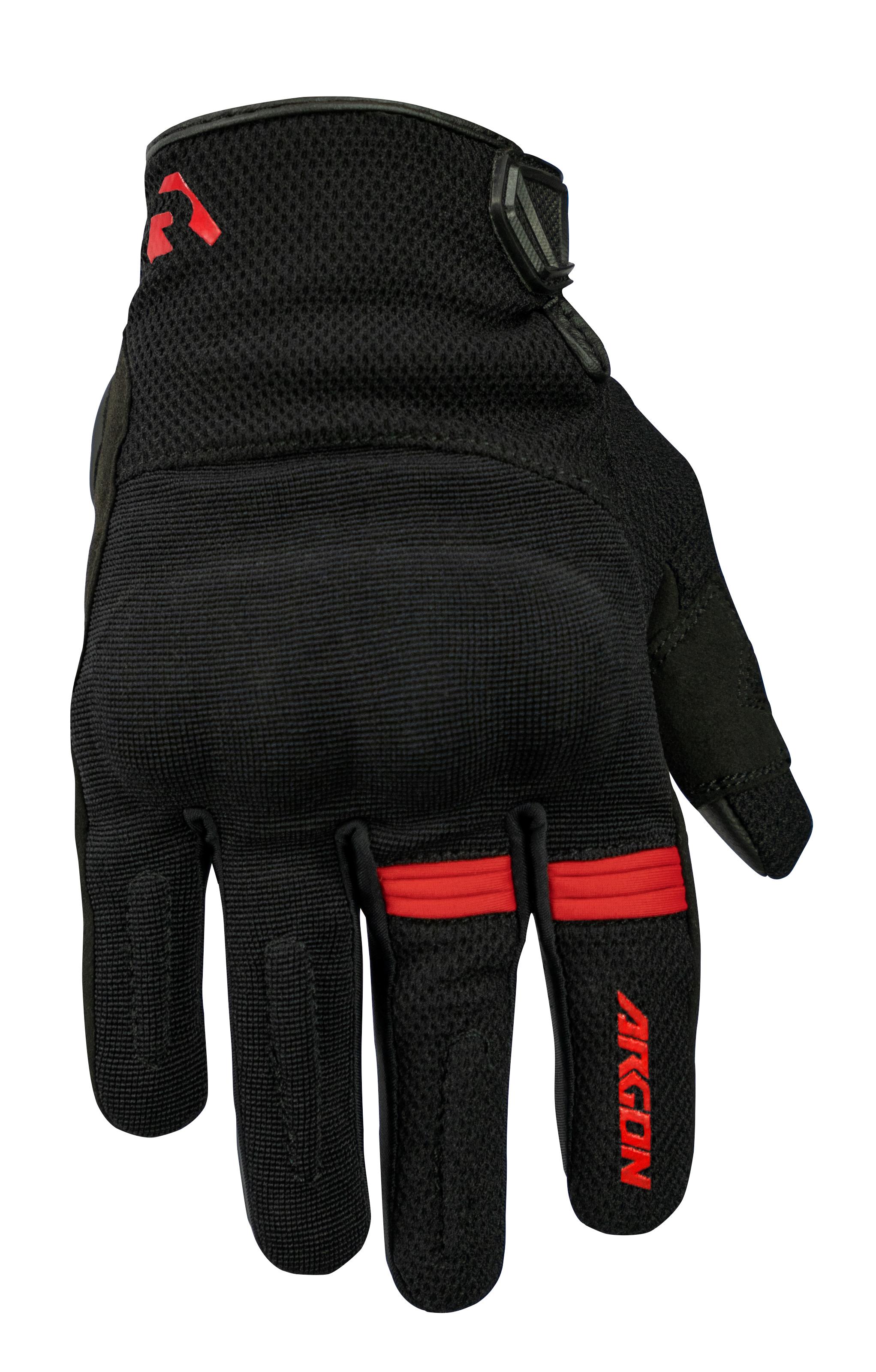Argon Swift Black/Red Gloves