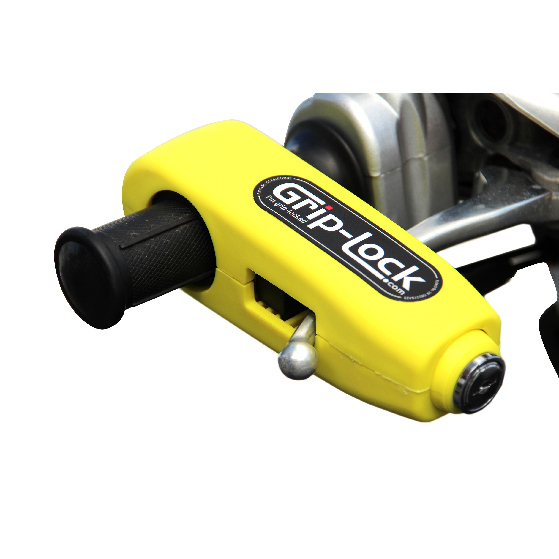 Grip Lock Yellow Handle Bar Lock