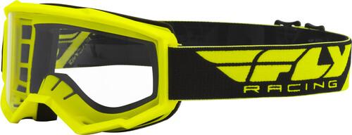 Fly Racing Focus Hi-Vis Yellow Goggles
