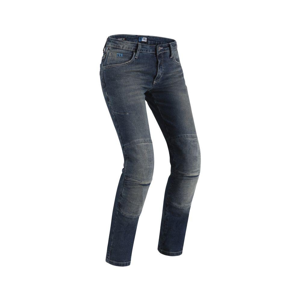 PMJ Women's Florida Mid Blue Jeans