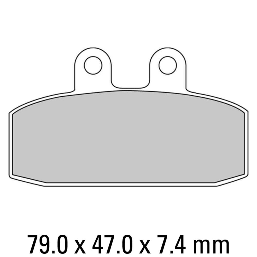 Ferodo FDB438EF Brake Pads