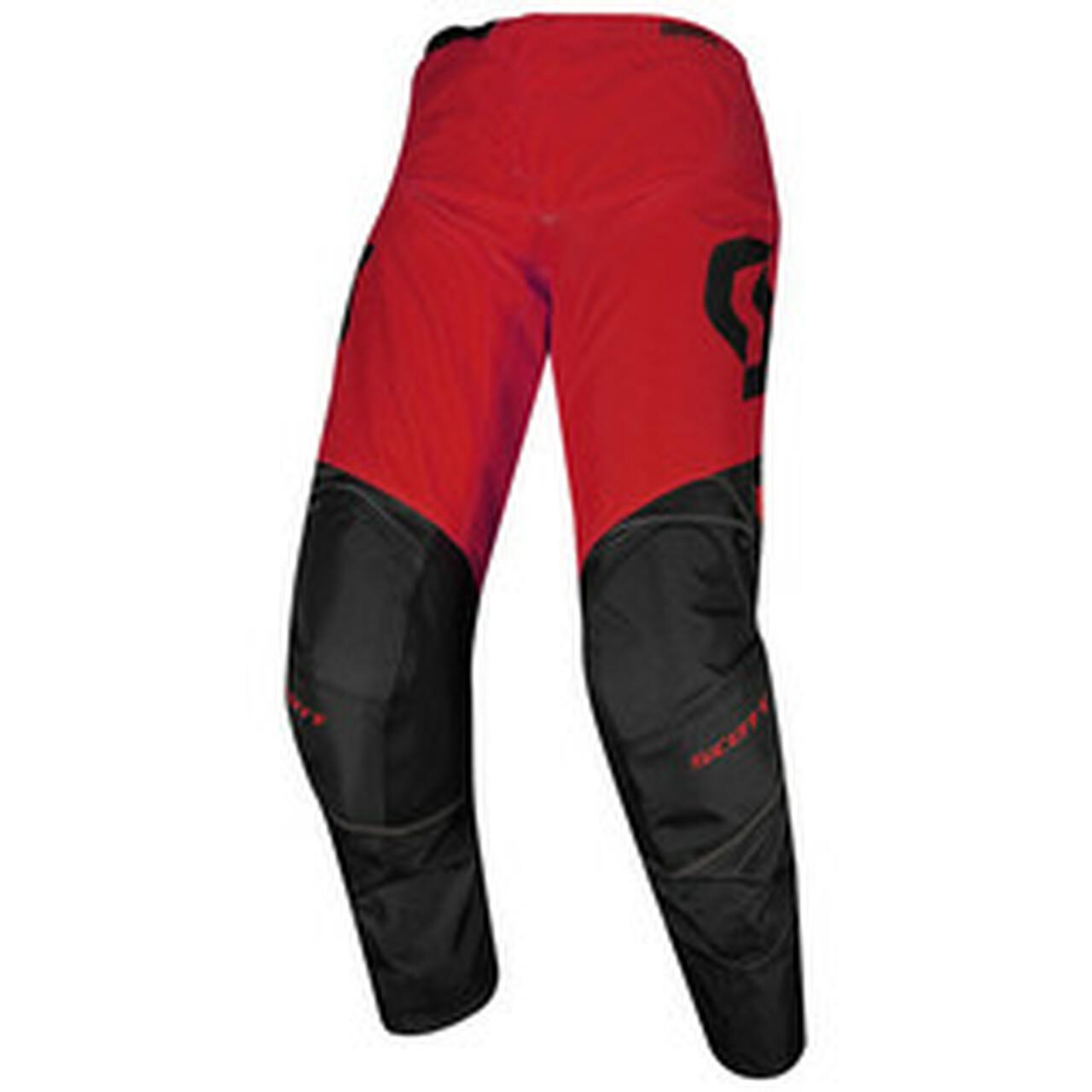 Scott 350 Dirt Black/Red MX Pants