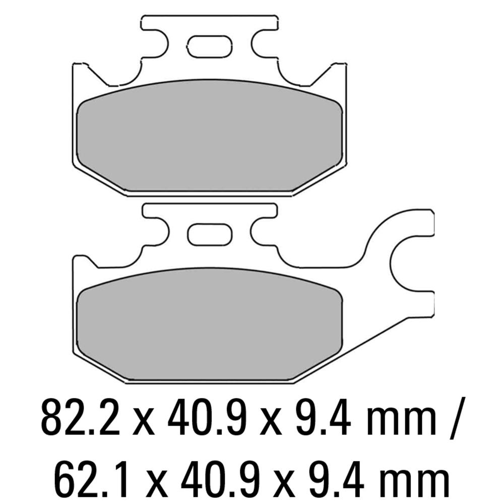 Ferodo FDB2148EF Brake Pads