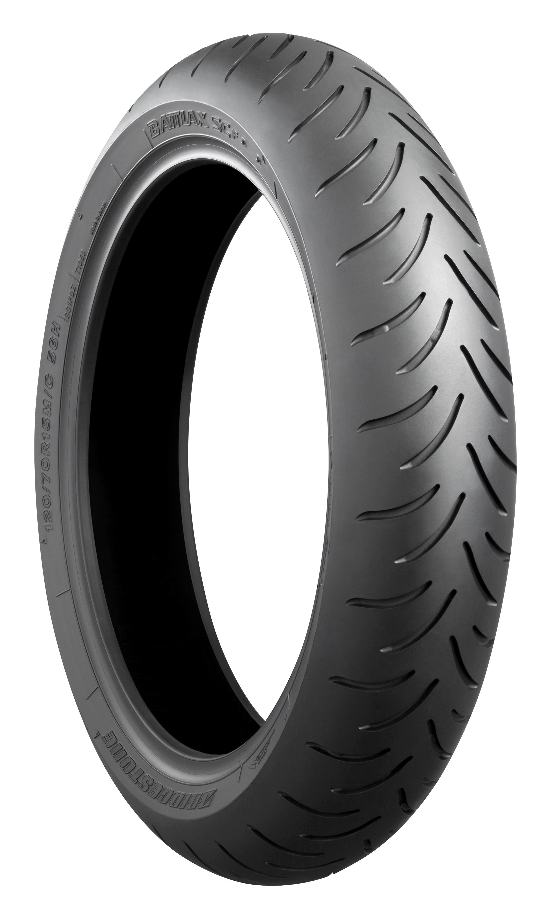 Bridgestone Battlax Scooter SC 120/70S15 (56S) Bias Front Tyre