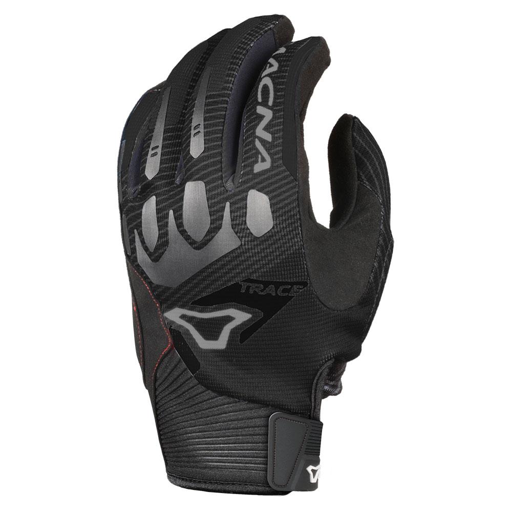 Macna Trace Black Gloves
