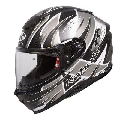 Kabuto Aeroblade 5 Hurricane Black/Silver/White Helmet