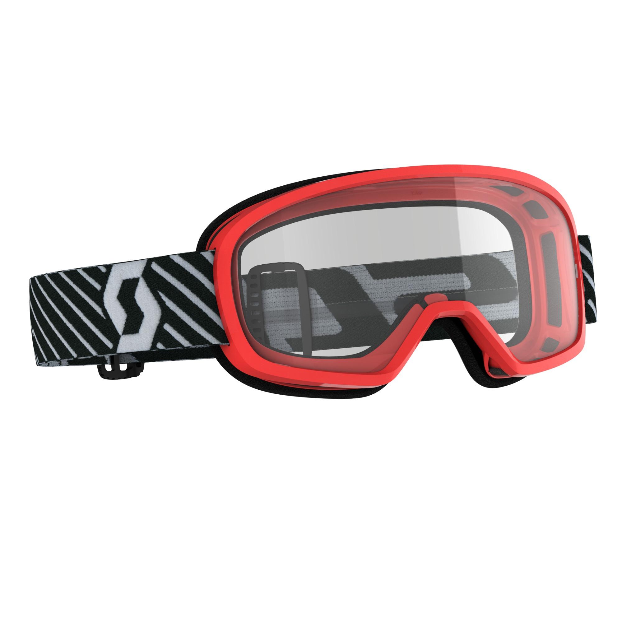 Scott Buzz MX Red Clear Goggle