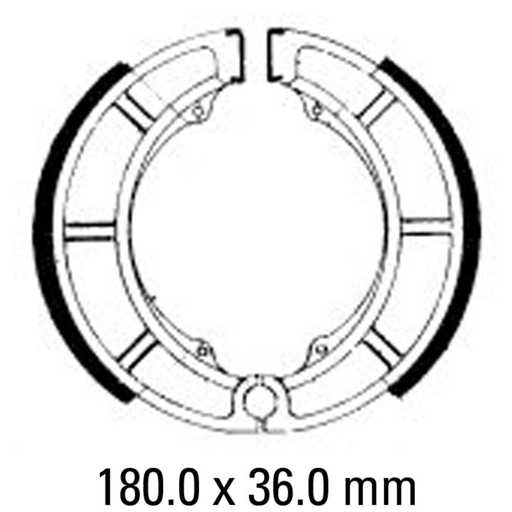 Ferodo FSB784 Brake Shoe Set