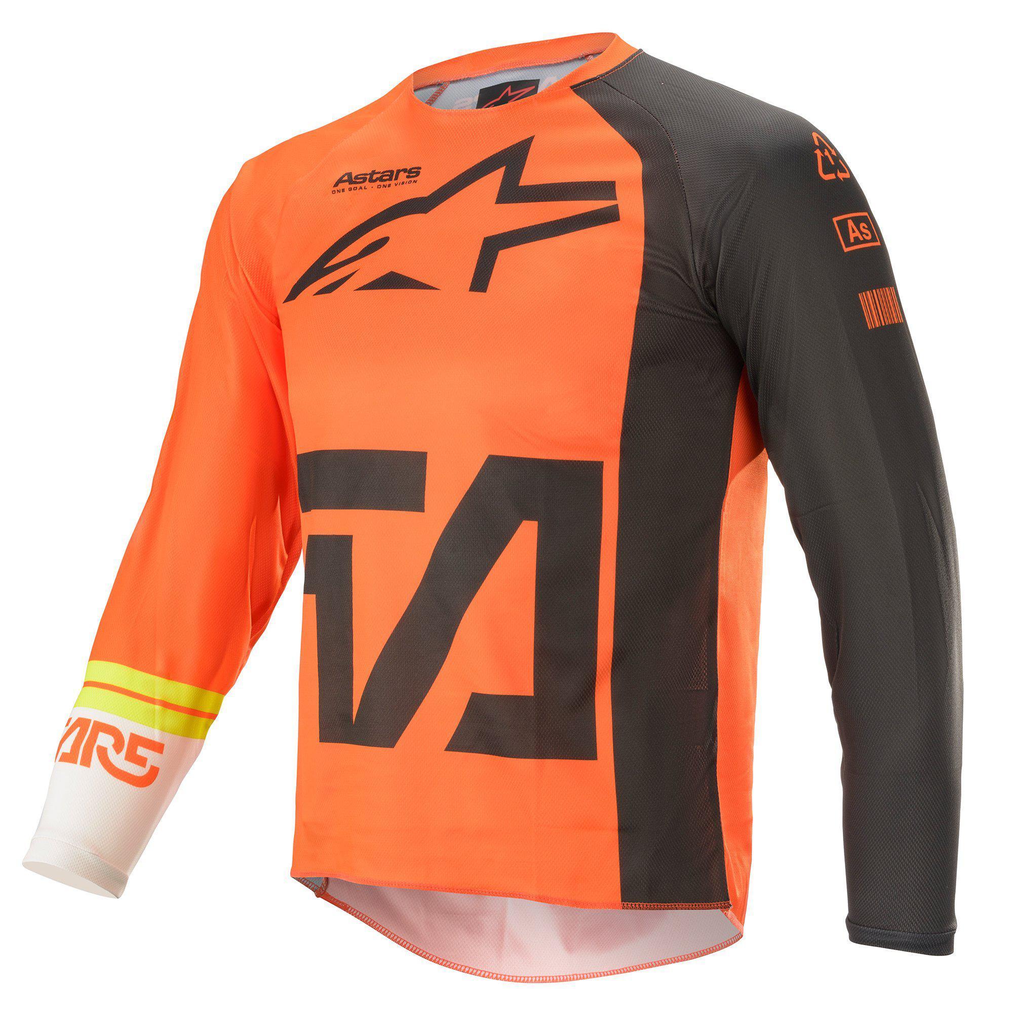 Alpinestars 2021 Youth Racer Compass Orange/Anthracite/White Jersey