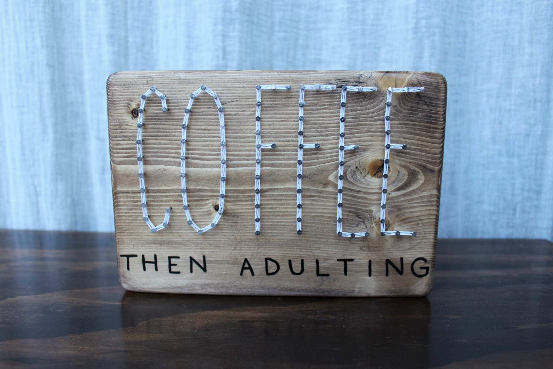 Image of Coffee Then Adulting