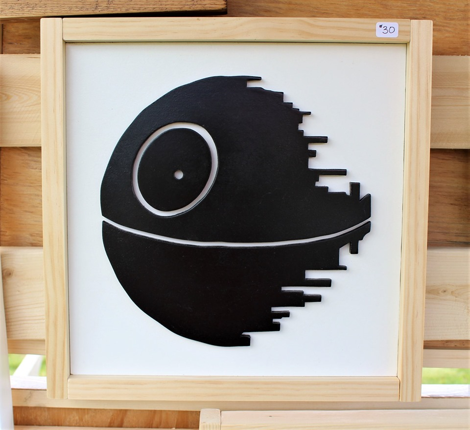 Image of Framed Death Star