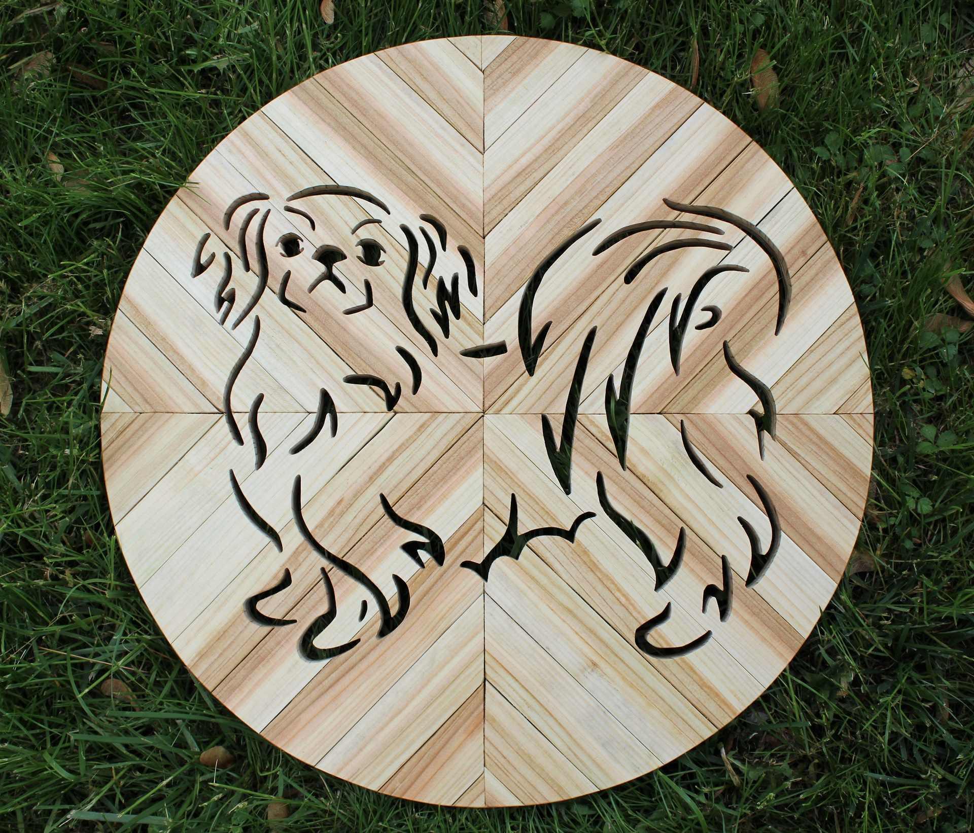 Image of Dog Cutout Round