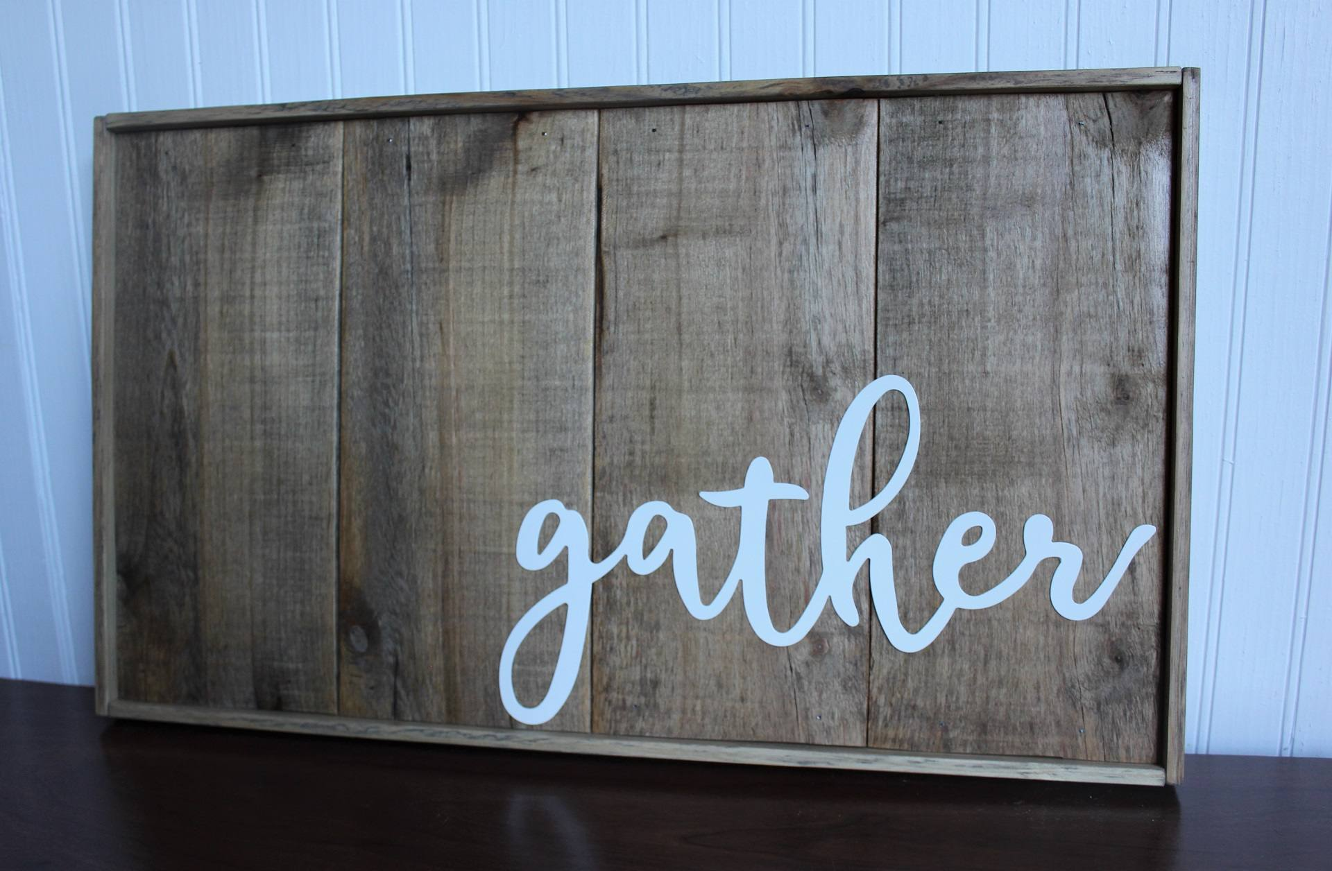 Image of Framed Gather Stained