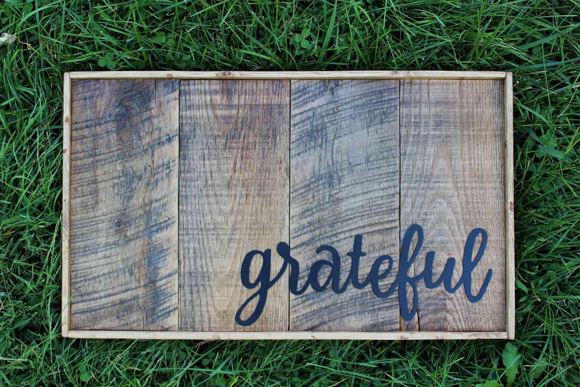 Image of Framed Grateful