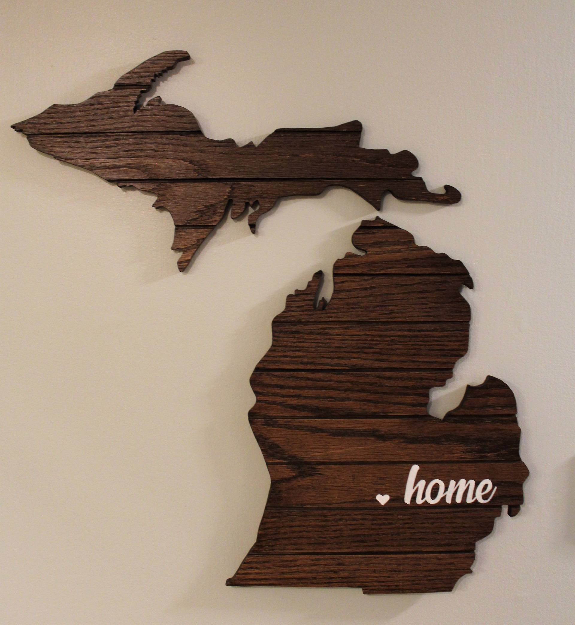 Image of Michigan Home Cutout