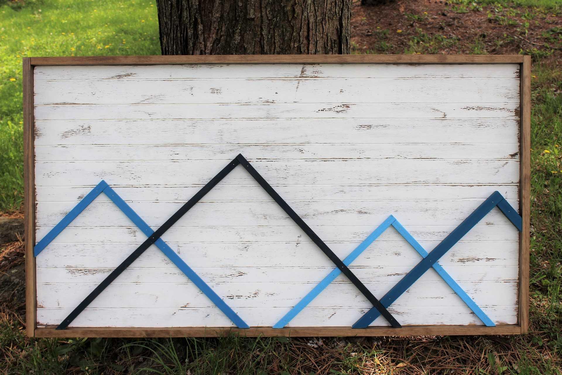 Image of Blue Mountain Wall Art