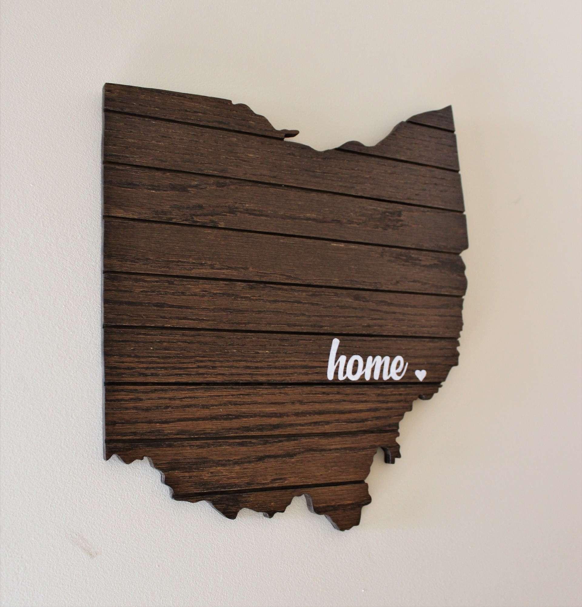 Image of Ohio Home Cutout