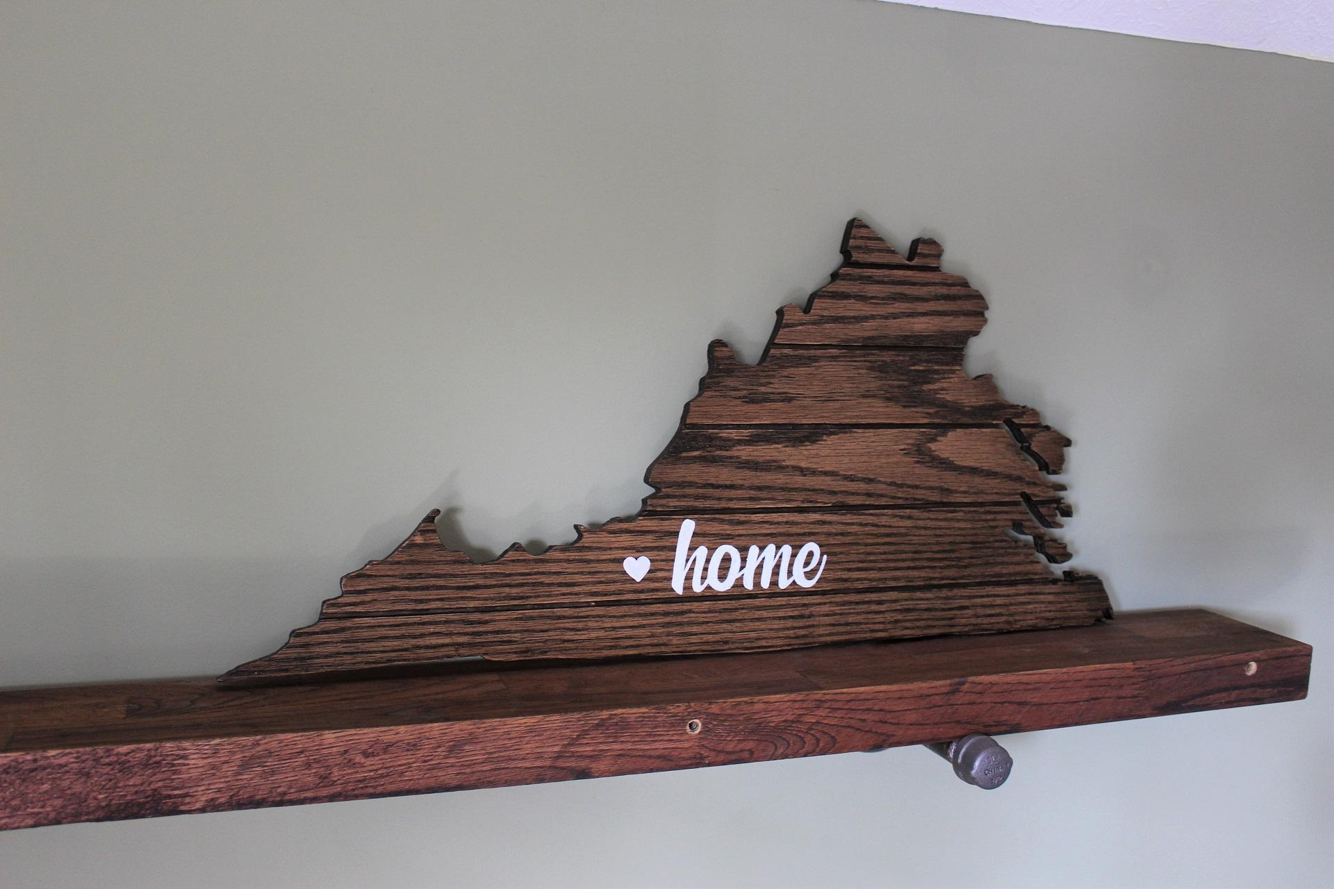 Image of Virginia Home Cutout