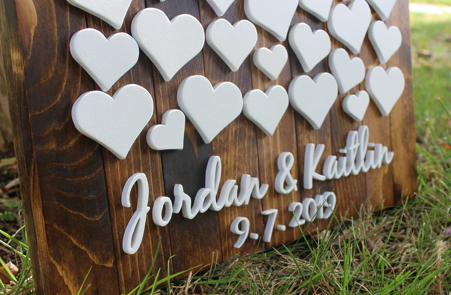 Image of Wedding Guest Board