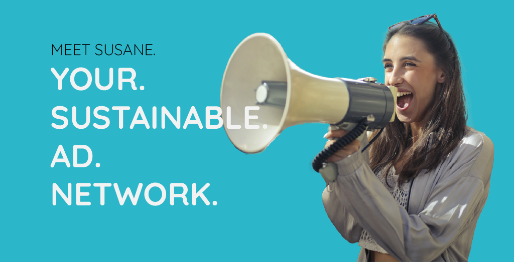 Logo Susane - Your sustainable ad network