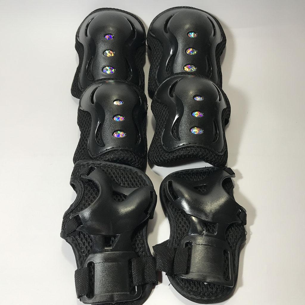 Bộ bảo hộ trượt patin cho bé (màu đen) hình 1