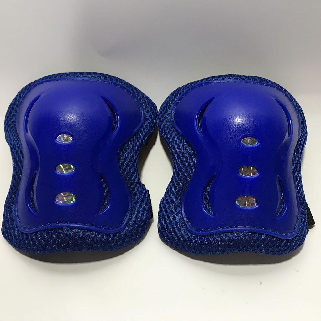 Bộ bảo hộ trượt patin cho bé (màu xanh) hình 2