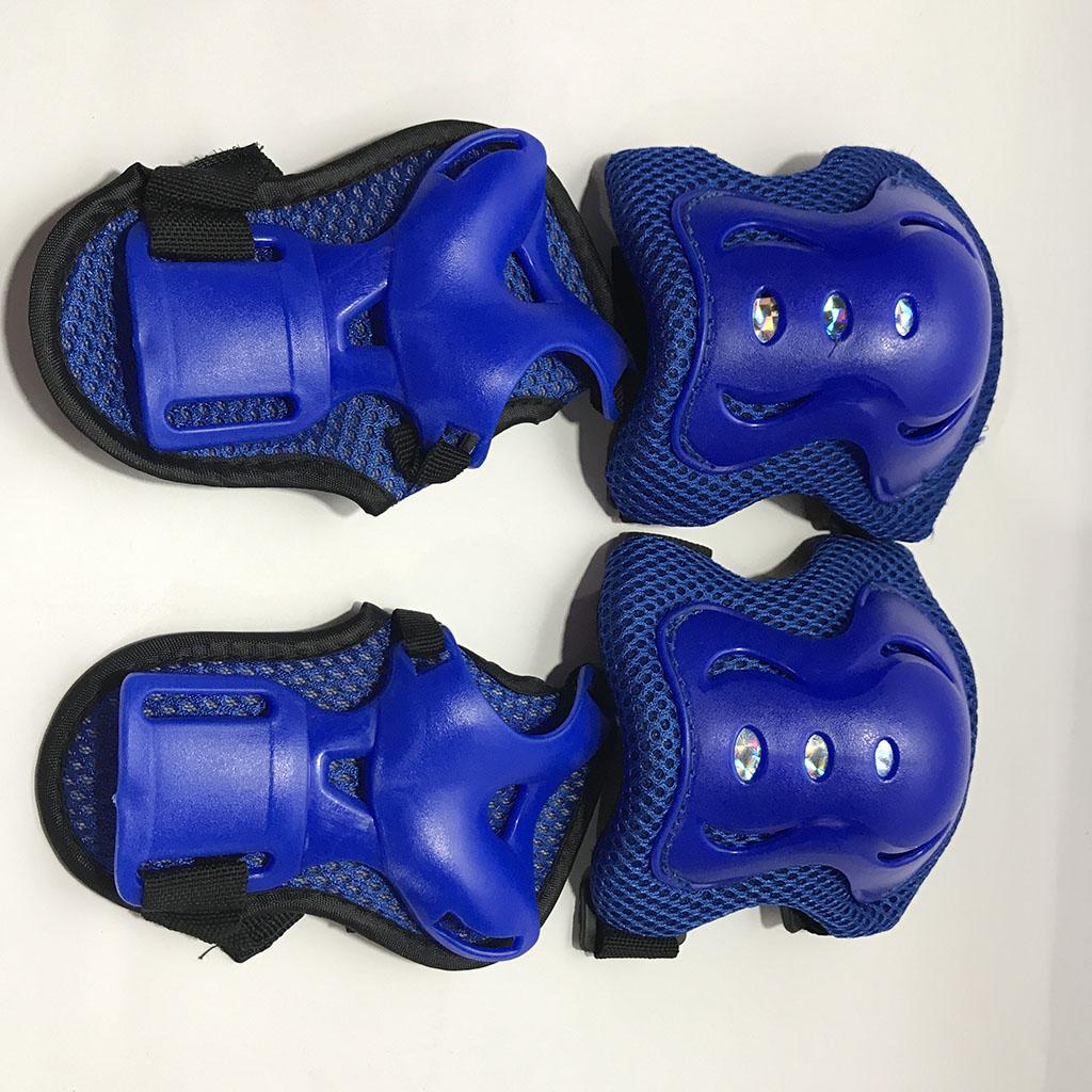 Bộ bảo hộ trượt patin cho bé (màu xanh) hình 3