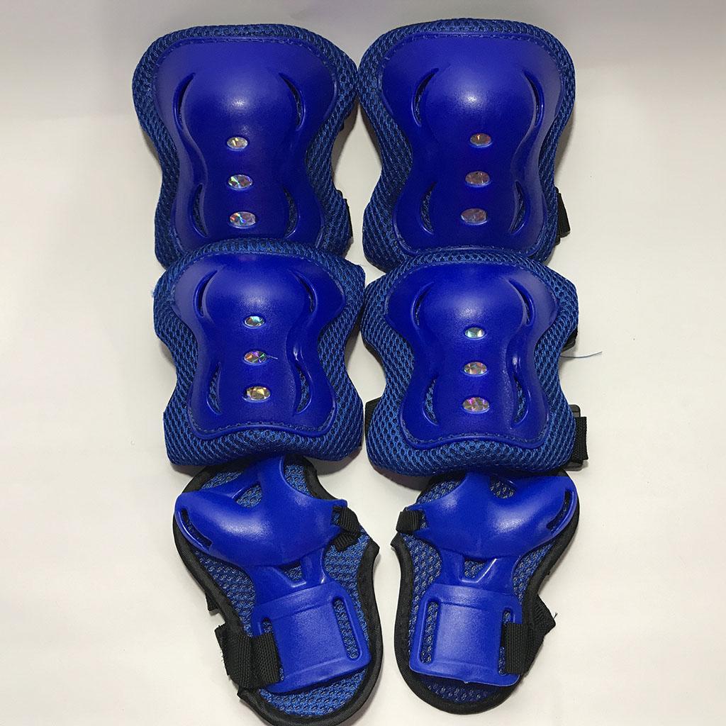Bộ bảo hộ trượt patin cho bé (màu xanh) hình 4