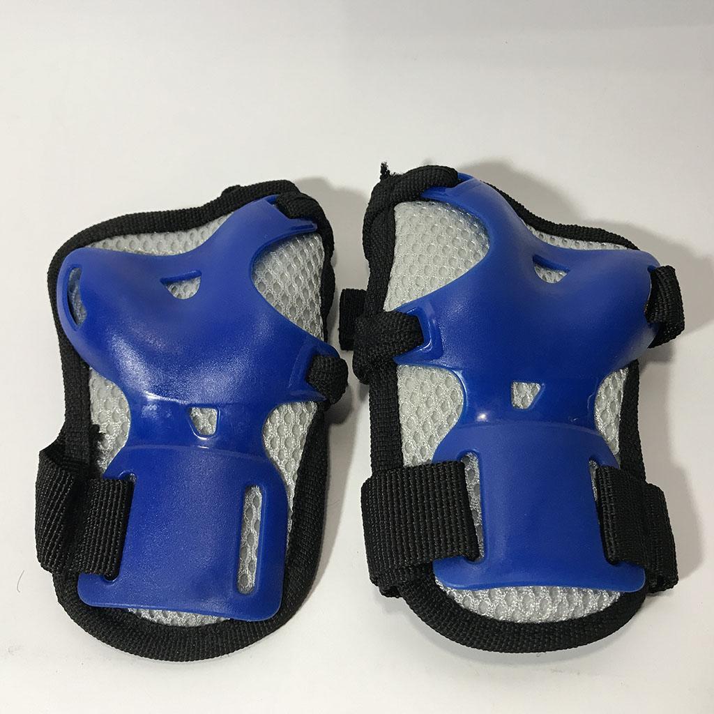 Bộ bảo hộ trượt patin lớn (xanh) hình 4