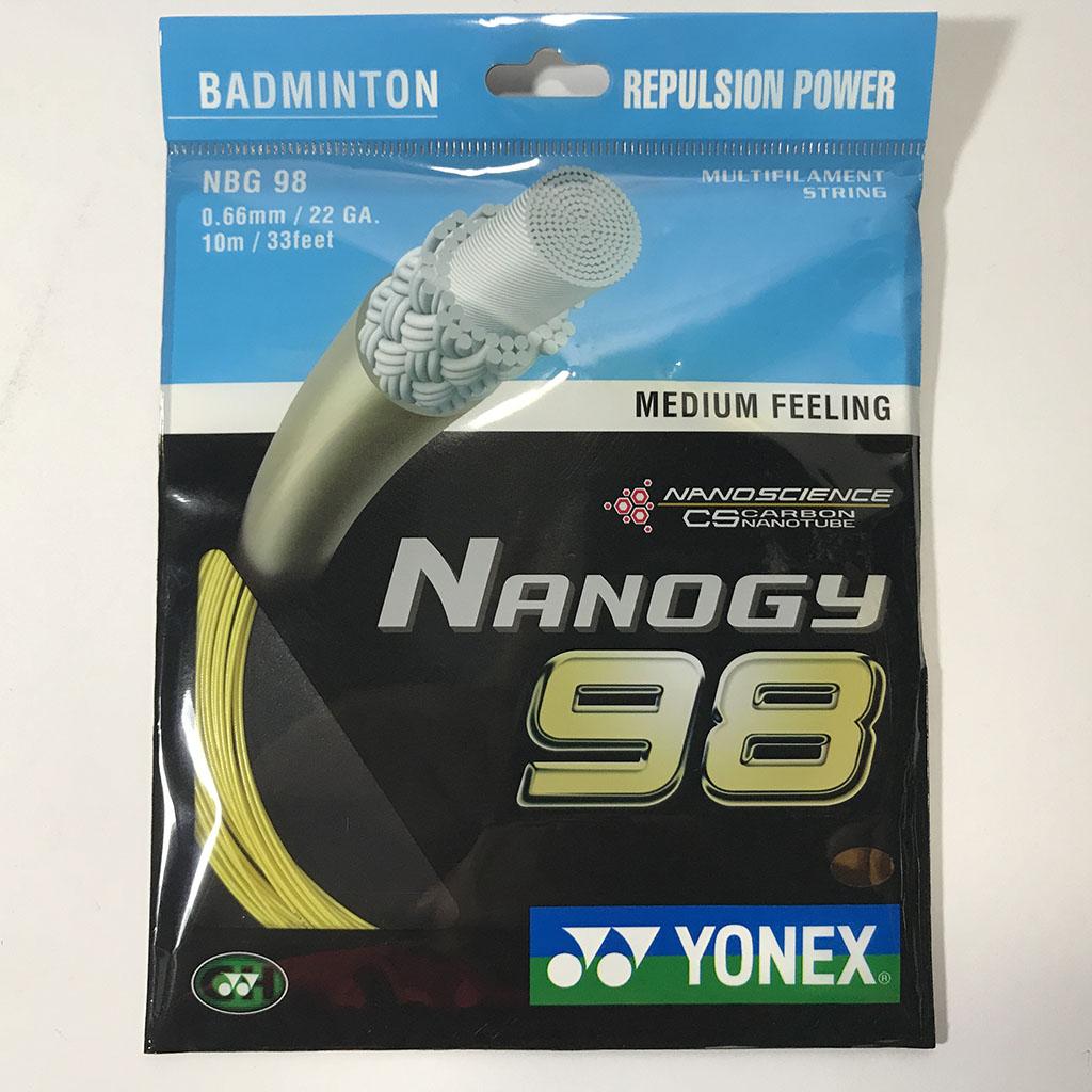 Cước đan vợt cầu lông Nano98 hình 1