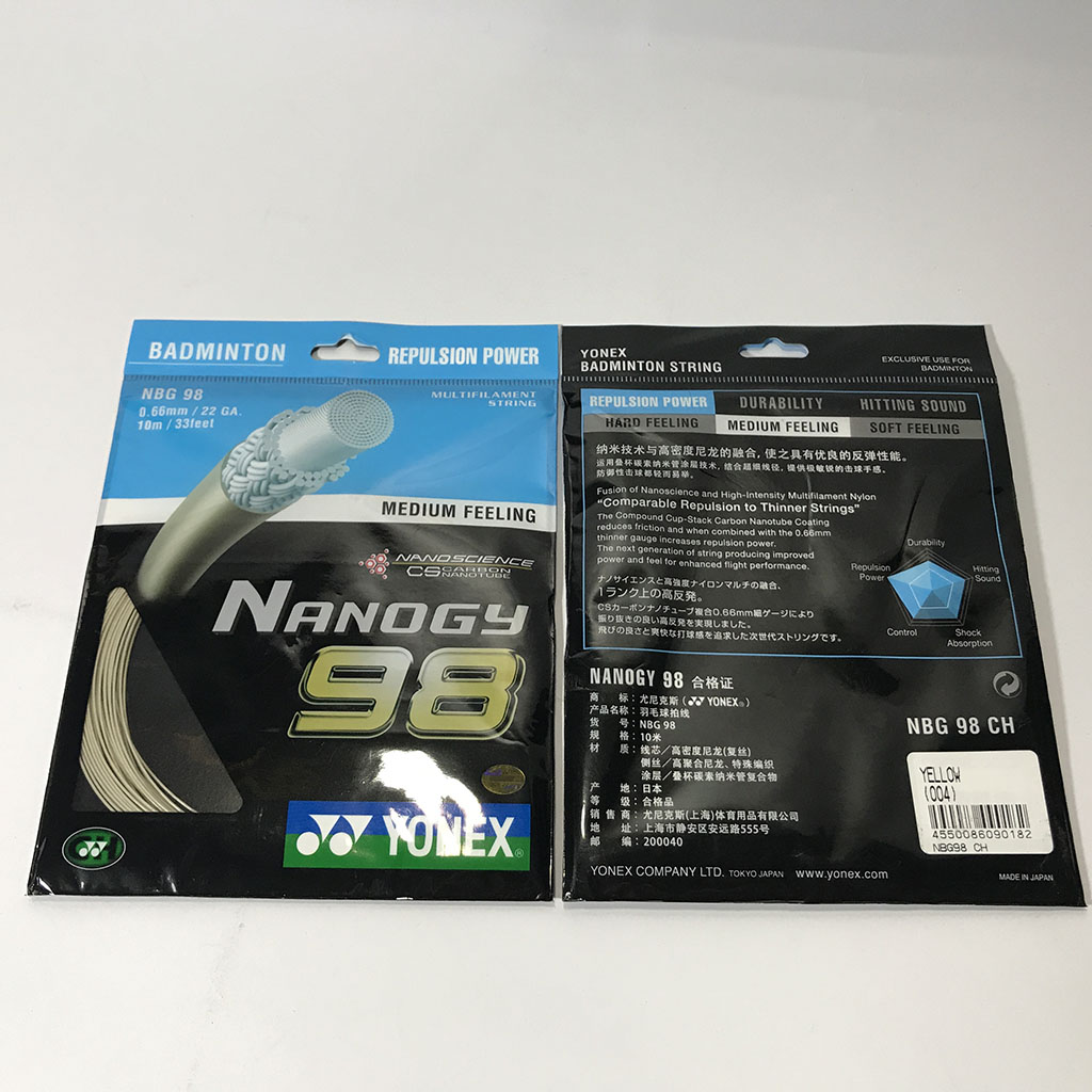 Cước đan vợt cầu lông Nano98 hình 3