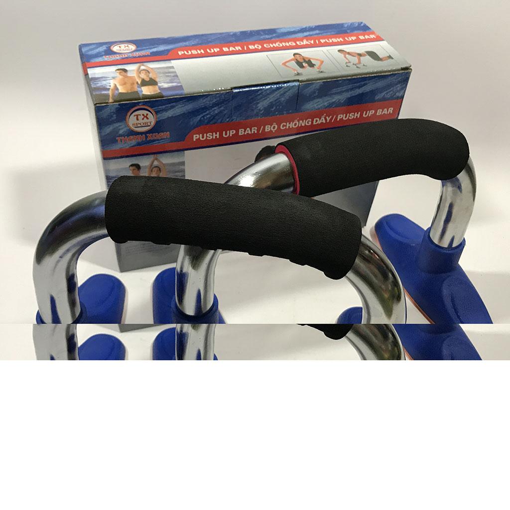 Dụng cụ chống đẩy (hít đất) Inox hình 4
