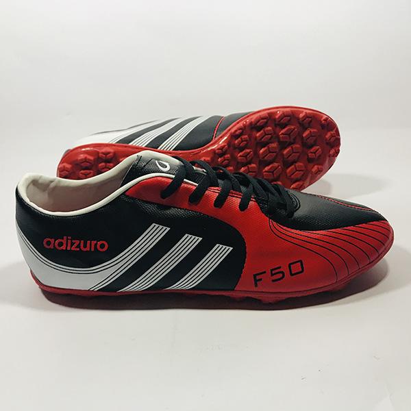 Giày đá bóng sân cỏ nhân tạo Adizuro đ.đỏ hình 2