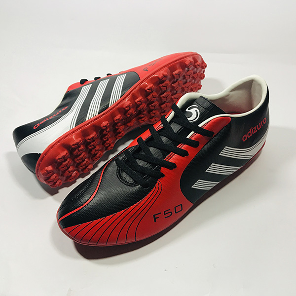 Giày đá bóng sân cỏ nhân tạo Adizuro đ.đỏ hình 3