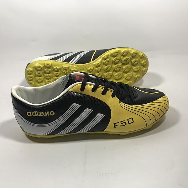 Giày đá bóng sân cỏ nhân tạo Adizuro đ.vàng hình 2