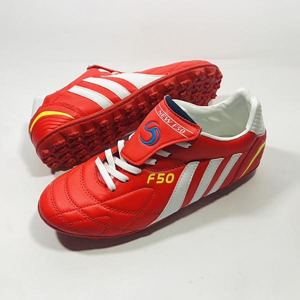 Giày đá bóng sân cỏ nhân tạo F50 đỏ hình 1