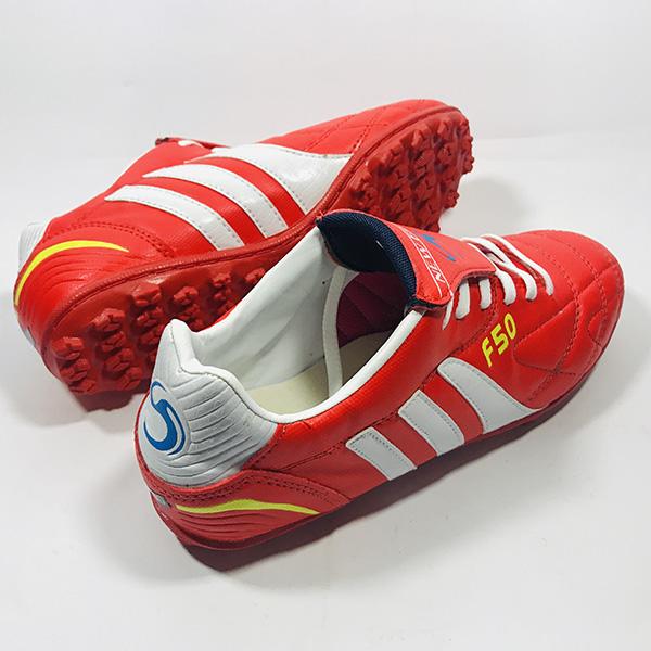 Giày đá bóng sân cỏ nhân tạo F50 đỏ hình 2