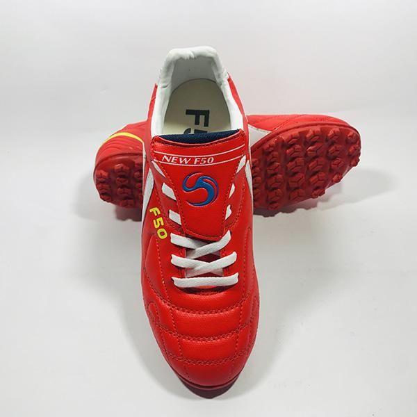 Giày đá bóng sân cỏ nhân tạo F50 đỏ hình 3