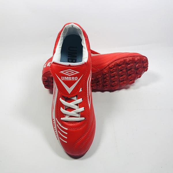 Giày đá bóng sân cỏ nhân tạo Umbro đỏ hình 3