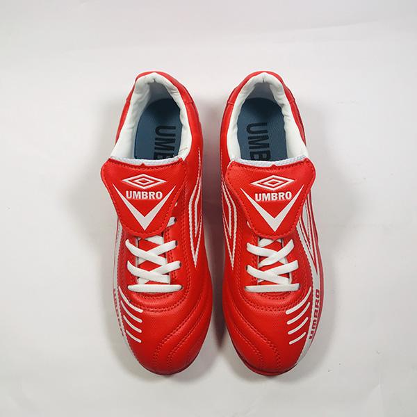 Giày đá bóng sân cỏ nhân tạo Umbro đỏ hình 4