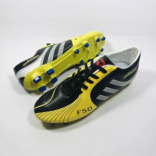 Giày đá bóng sân cỏ tự nhiên Adizuro đ.vàng hình 1
