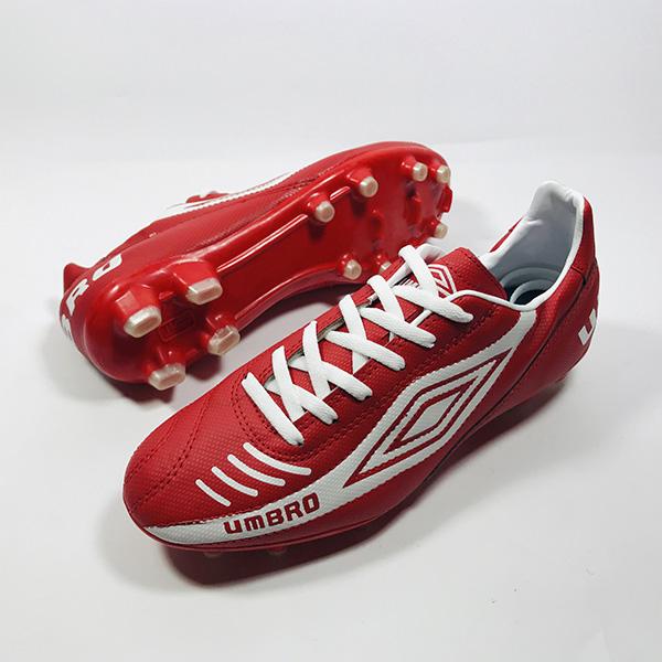 Giày đá bóng sân cỏ tự nhiên Umbro đỏ hình 1