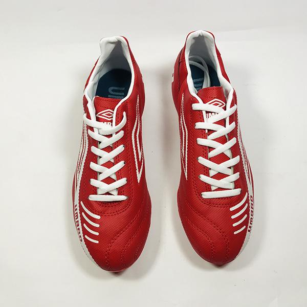 Giày đá bóng sân cỏ tự nhiên Umbro đỏ hình 4