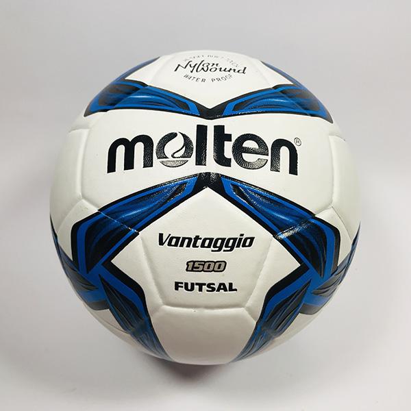 Quả bóng đá Futsal Molten 1500 trắng hình 1