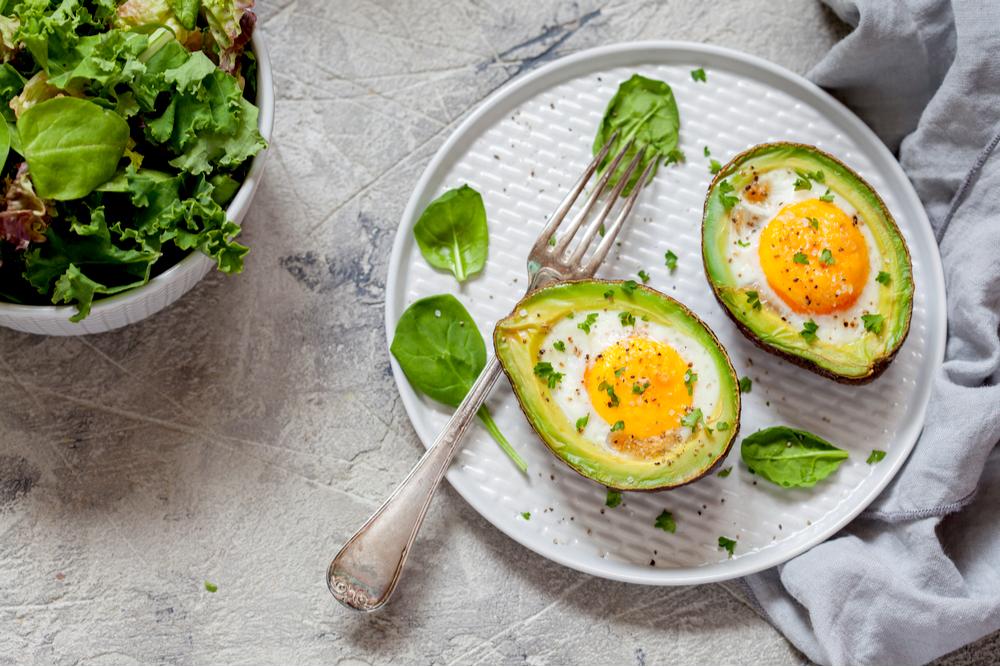 keto rezepte avocado eier