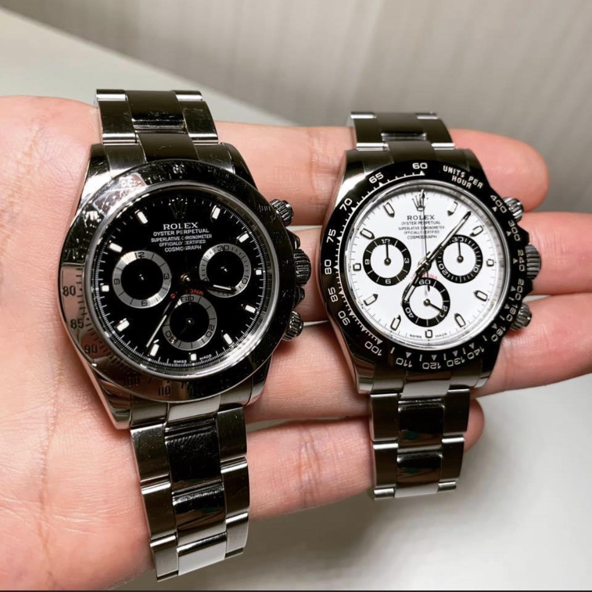 經由Rolexaholic 販售的皆為全新手錶,所有手錶都會開立收據、註明手錶型號款式,💯正貨保證,如發生真偽問題,全額退款。