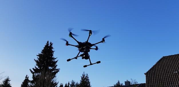 Bild Begutachtungen mittels Drohne