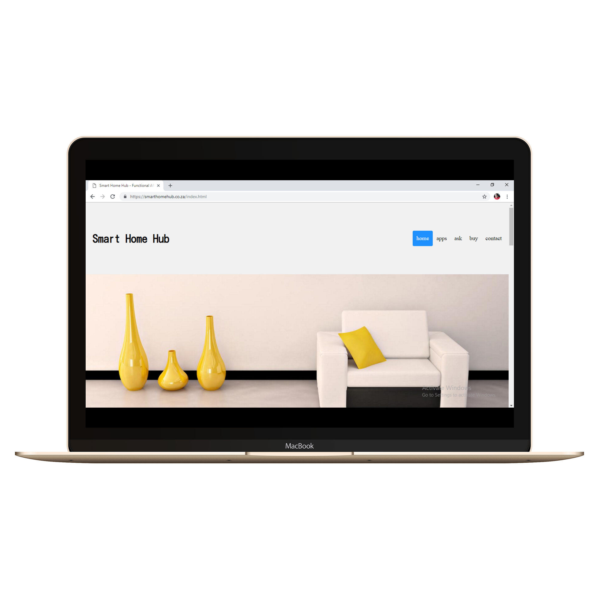 Smart Home Hub Web