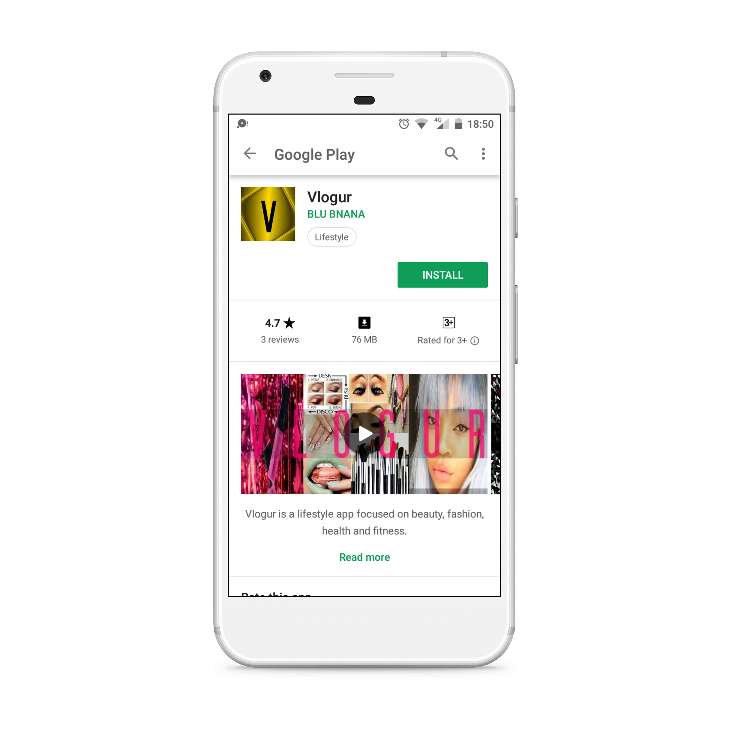Vlogur Android App