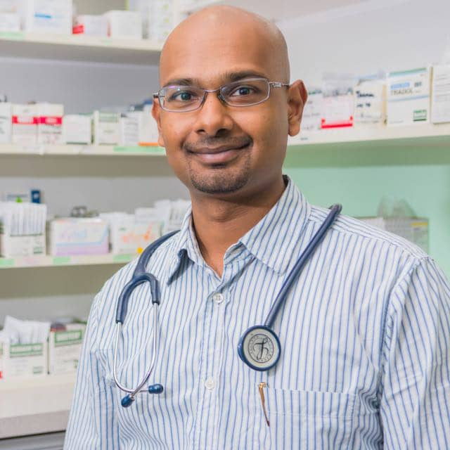 General Practitioner (Primary Care Physician) Specialist Dr Prathaban Raju